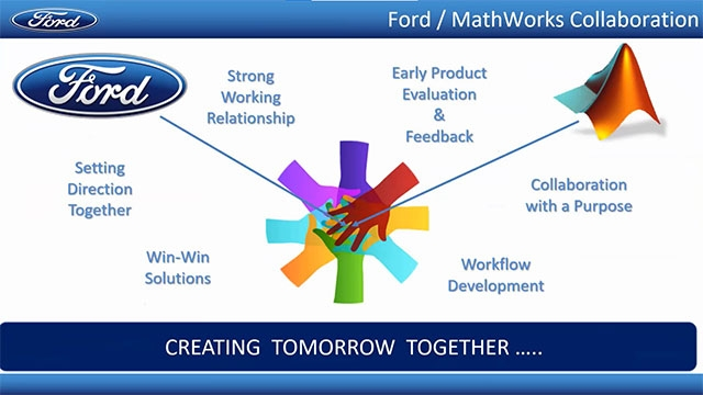 Ford's MBD Core team develops and deploys common processes and tools globally. In addition to developing common processes and best practices for MBD, the team is also laying the groundwork to effectively perform virtual vehicle level testing.