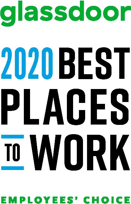 Glassdoor 2020 Best Places to Work