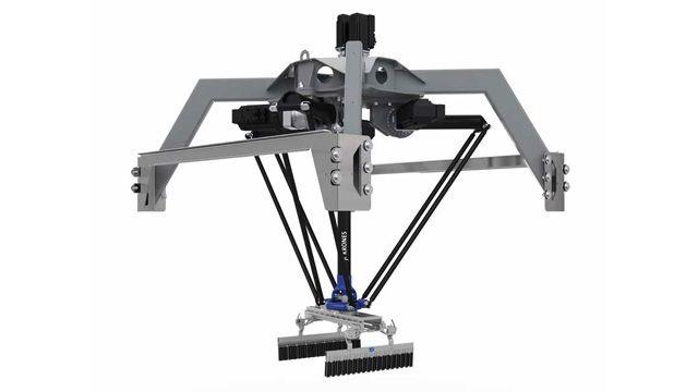 Krones desarrolla un gemelo digital de un robot de manejo de paquetes