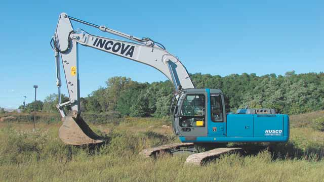 INCOVA Designs Intelligent Valve-Control System for a 20-Ton Excavator