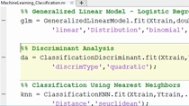 Descubre cómo las herramientas para machine learning en MATLAB®  te pueden ayudar a solucionar problemas de regresión, clustering y clasificación.