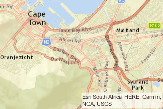 Visualize streaming geographic map data - MATLAB - MathWorks