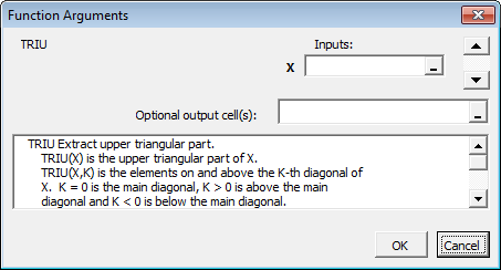 Find and Execute MATLAB Function Using MATLAB Function Wizard