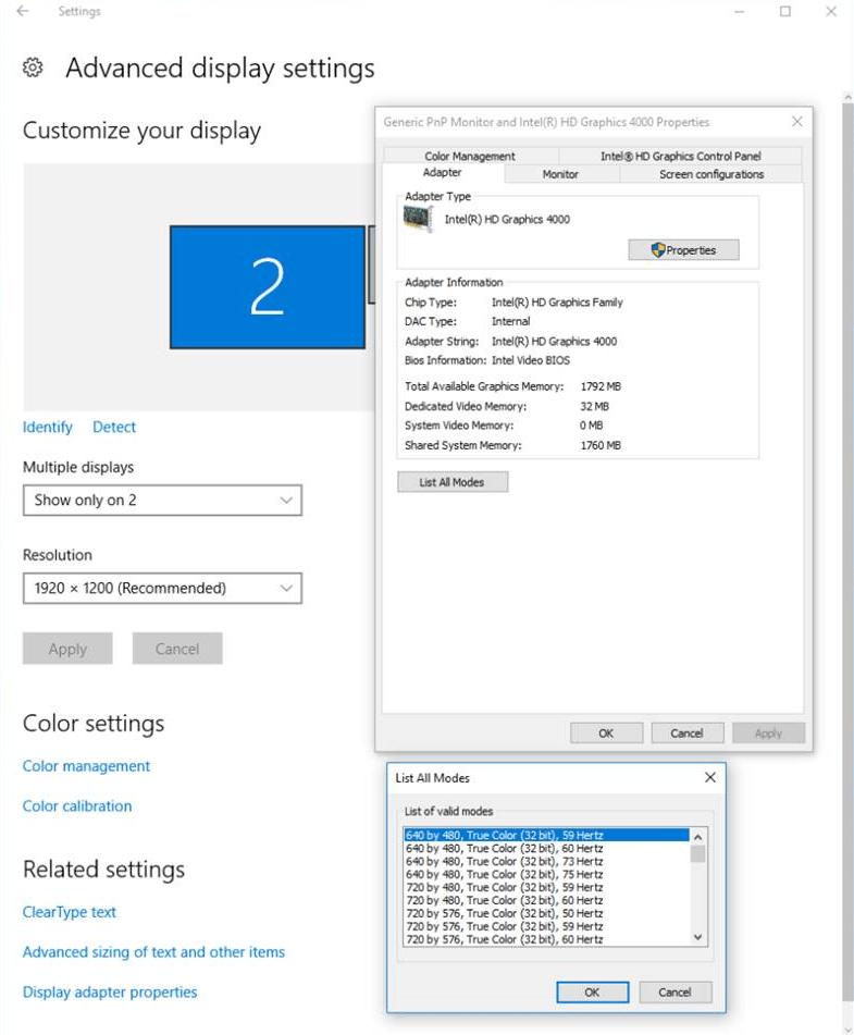 Configure Display for VGA Playback - MATLAB & Simulink - MathWorks