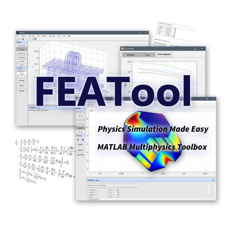 FEATool Multiphysics - MATLAB FEA Physics Simulation Toolbox