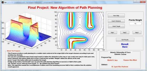 New Algorithm of Path Planning - File Exchange - MATLAB Central