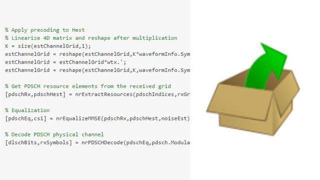Código de MATLAB abierto y personalizable.
