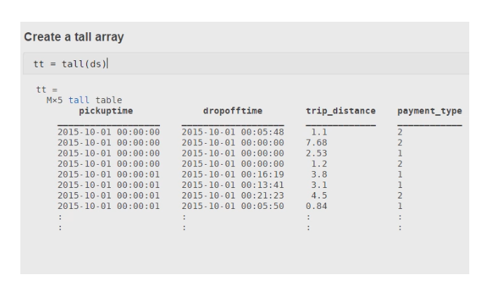 Use MATLAB to manipulate and analyze data that is too big to fit in memory.