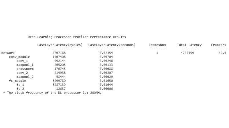 Métricas de análisis de inferencia de deep learning.