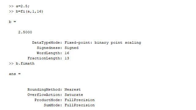 Un tipo de datos en punto fijo y sus propiedades.