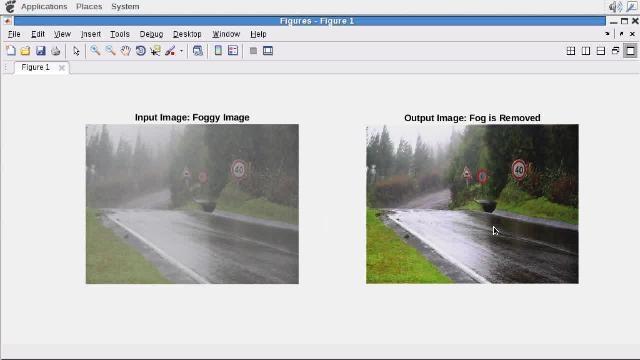 Utilice GPU Coder para generar código CUDA a partir de un algoritmo de rectificación de niebla escrito en MATLAB.