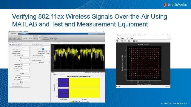 Pruebe señales inalámbricas con MATLAB y equipos de prueba. Para evaluar la calidad de la señal, observaremos los gráficos de constelación y calcularemos la magnitud del vector de error (o EVM) de la señal.