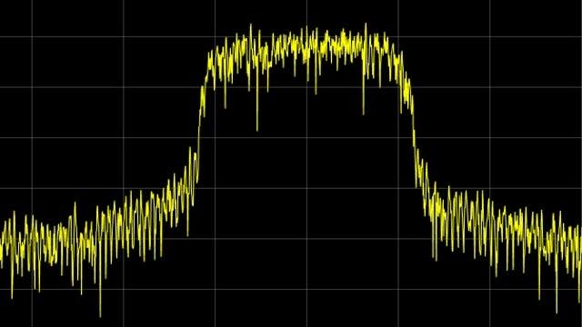 Formas de onda y canales de medición de referencia de enlace descendente de UMTS.