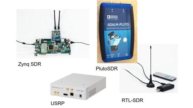 Transmisión de señales LTE mediante SDR AD936x de Analog Devices.