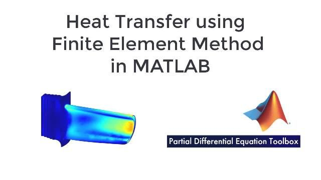 Aprenda a resolver problemas de transferencia de calor utilizando el método de los elementos finitos en MATLAB con Partial Differential Equation Toolbox.