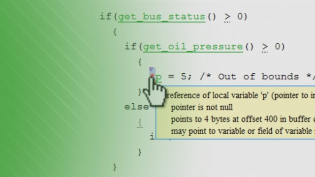 Prove the absence of run-time errors in software using Polyspace Code Prover .