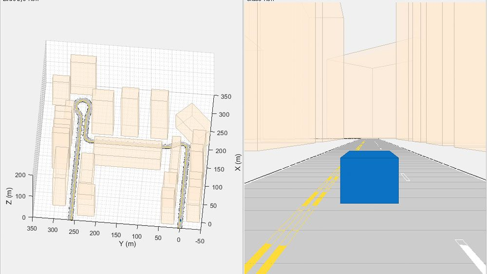 Localización de un egovehículo mediante odometría visual-inercial en un entorno sin acceso a GPS.