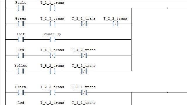 Genere un diagrama en escalera e impórtelo a un IDE.