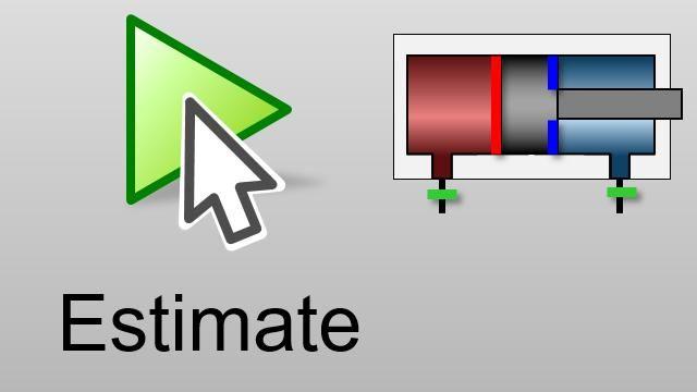 Ajuste automáticamente los parámetros hasta que los resultados de la simulación coincidan con los datos medidos. Se emplean algoritmos de optimización para obtener valores de parámetros realistas para un modelo de Simscape Fluids.