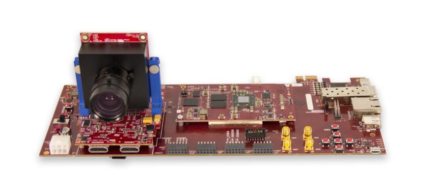 Prototipe su diseño en hardware de FPGA con entrada de vídeo en tiempo real.