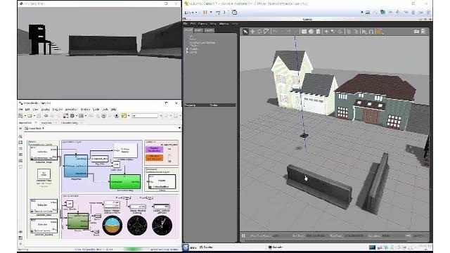 Simulación y verificación de algoritmos autónomos con Robotics System Toolbox, ROS Toolbox y Gazebo