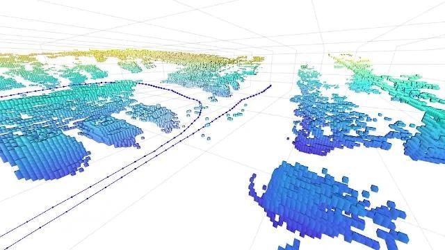 Localización y mapeo simultáneos (SLAM) en 3D con nubes de puntos LiDAR utilizando Navigation Toolbox