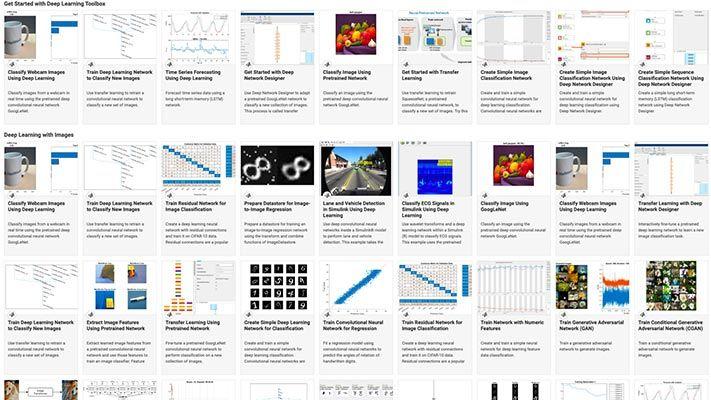 Ejemplos de Deep Learning