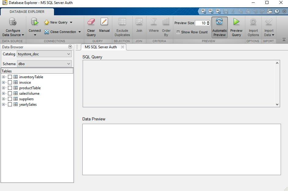 App Database Explorer