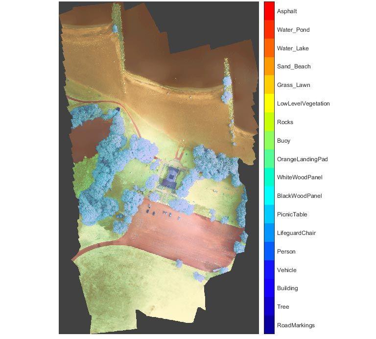 Segmentación semántica - Imagen satélite multiespectral
