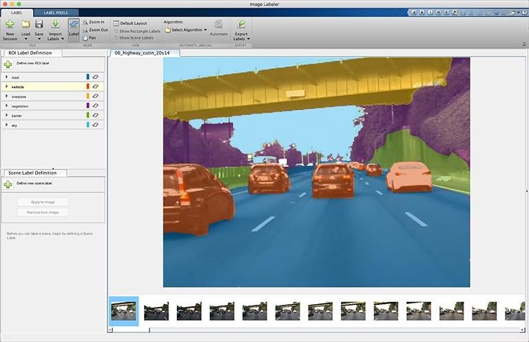 Segmentación semántica - Image Labeler App