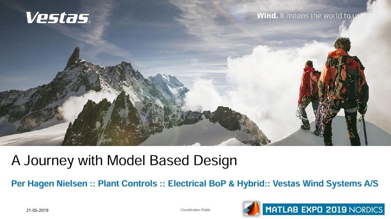 Vestas Hybrid Power Plant Solutions: A Journey with Model Based Design