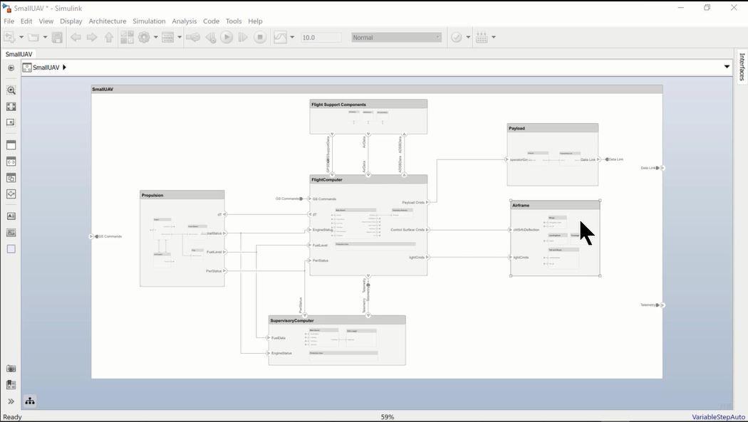 En este vídeo se muestra cómo crear automáticamente un diagrama centrado en un único componente y su conectividad.