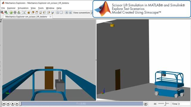 Scissor Lift, Explore Test Scenarios