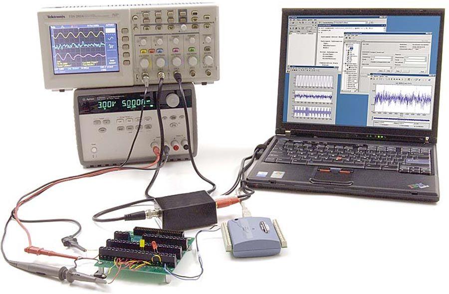 Pruebas de semiconductores