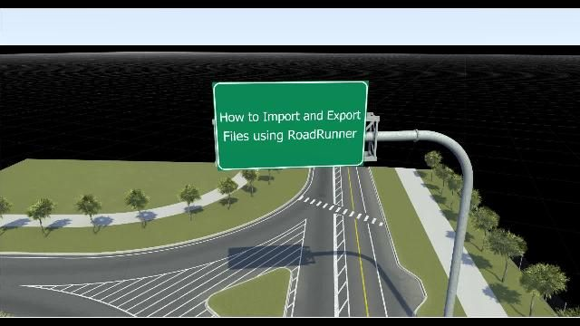 Learn how to use RoadRunner to import and export openDRIVE files. Make edits to 3D scenes and export them to file formats like FBX and openDRIVE or use them in simulators such as CARLA.