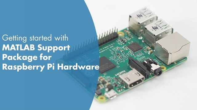 Learn how to install the MATLAB support package for Raspberry Pi using the MathWorks Raspbian image.