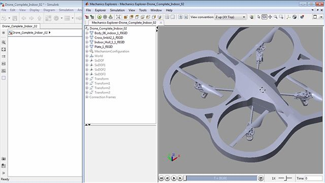 Introduction to Simulink Using a Quadcopter Vehicle Example