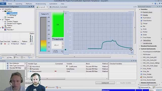 Frank Schmidtmeier, of dSPACE, and Christoph Hahn, of MathWorks, guide you step-by-step through the workflow from reading sensor data to your Simulink model to auto-generated C code running on the ECU.