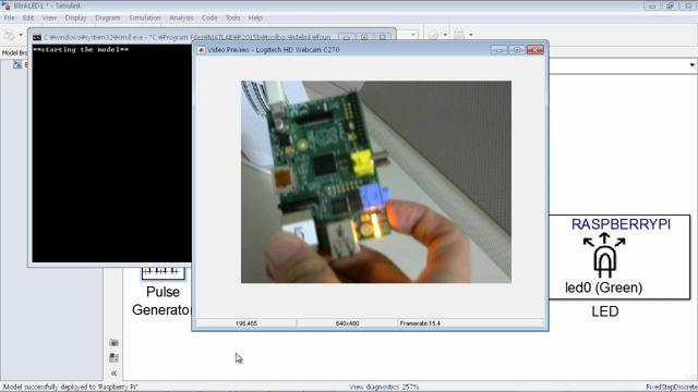 MATLAB/Simulink를 이용하여 영상처리 알고리즘을 모델링하고 Raspberry Pi에 구현하는 방법을 소개합니다.